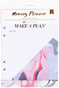 Marble Crush Event, 6 Designs/5 Each - American Crafts Memory Planner Inserts