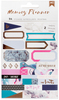 Marble Crush - American Crafts Memory Planner Label Stickers