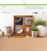 "Basics - Cricut Corrugated Cardboard 12""X12"" Set 20 Sheets"