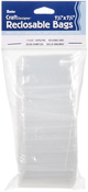 Clear - Darice Reclosable Bags 100/Pkg