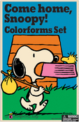 Come Home Snoopy - Colorforms(R) Classic Re-Stickable Sticker Set