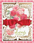 "Eliza Lace Corners 2.35"" To 2.75"" - Spellbinders Chantilly Paper Lace By Becca Feeken"