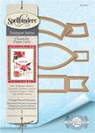 "Vintage Pierced Banners .5"" To 3.5"" - Spellbinders Chantilly Paper Lace By Becca Feeken"