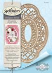 Hannah Elise Layering Frame - Spellbinders Chantilly Paper Lace By Becca Feeken