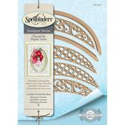 Lunette Arched Borders - Spellbinders Chantilly Paper Lace By Becca Feeken