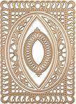 Bella Rose Lattice Layering Frame - Spellbinders Chantilly Paper Lace By Becca Feeken