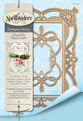 Coralene's Chemise Layering Frame - Spellbinders Chantilly Paper Lace By Becca Feeken