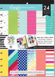 "Brights - Create 365 Happy Memory Keeping Cardstock Pad 8.5""X11"" 24/Pk"