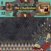 "The Charleston - Hot Off The Press Double-Sided Paper Pack 12""X12"" 12/Pkg"