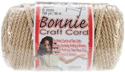 Tan - Bonnie Macrame Craft Cord 6mmX100yd