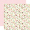 Baby Floral Paper - Sweet Baby Girl - Echo Park