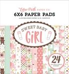 Sweet Baby Girl 6 x 6 Paper Pad - Echo Park