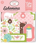 Sweet Baby Girl Ephemera - Echo Park