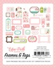 Sweet Baby Girl Tags & Frames - Echo Park