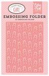 Teddy Bear A2 Embossing Folder - Echo Park