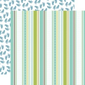Baby Boy Ribbons Paper - Sweet Baby Boy - Echo Park