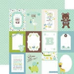 Journaling Cards 3 x 4 Paper - Sweet Baby Boy - Echo Park