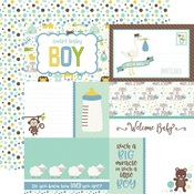 Journaling Cards Paper - Sweet Baby Boy - Echo Park