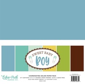 Sweet Baby Boy Solids Collection Kit - Echo Park