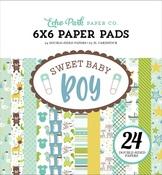 Sweet Baby Boy 6 x 6 Paper Pad - Echo Park