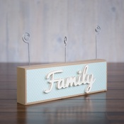 Picture Holder Block & 3 Photo Wires
