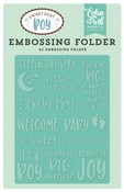 Special Delivery A2 Embossing Folder - Echo Park