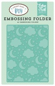 Sleep Tight A2 Embossing Folder - Echo Park - PRE ORDER