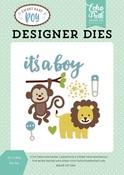 It's A Boy Die Set - Echo Park
