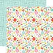 Spring Flowers Paper - Hello Spring - Echo Park
