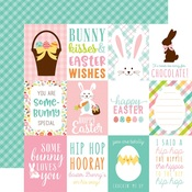 Journaling Cards 3 x 4 Paper - Hello Easter - Echo Park