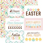 Journaling Cards 4 x 6 Paper - Hello Easter - Echo Park