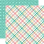 Spring Plaid Paper - Hello Easter - Echo Park
