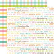 Easter Words Paper - Hello Easter - Echo Park