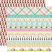 Border Strips Paper - Hello Easter - Echo Park