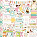 Hello Easter Element Stickers - Echo Park - PRE ORDER