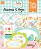 Hello Easter Tags & Frames - Echo Park Ephemera Cardstock Die-Cuts. Perfect for all your paper crafting needs! This package contains 33 pieces. Acid and lignin free.