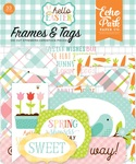 Hello Easter Tags & Frames - Echo Park