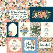 Primrose Journaling Card Paper - Flora No 2 - Carta Bella