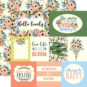 Blossom Journaling Cards Paper - Flora No 2 - Carta Bella