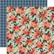 Garden Rose Corsage Paper - Flora No 2 - Carta Bella