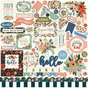 Flora No 2 Sticker Sheet - Echo Park