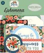 Flora No 2 Ephemera - Carta Bella