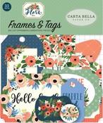 Flora No 2 Tags & Frames - Carta Bella