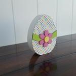 Egg Wood Decor Kit