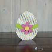 April Egg Wood Decor Kit