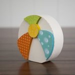 August Beach Ball Wood Decor Kit