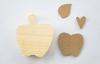 September Apple Wood Decor Kit