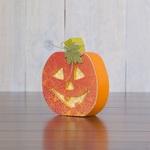 October Jack-O-Lantern Wood Decor Kit