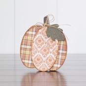 November Pumpkin Wood Decor Kit
