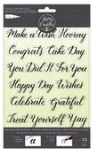 Celebration Traceable Clear Stamps - Kelly Creates